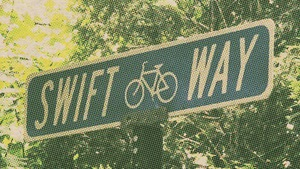 Swift Way road sign image